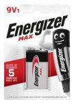 "ENERGIZER Elem, 9V, 1 db, ENERGIZER ""Max"""