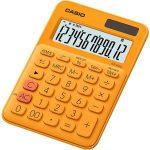 """CASIO Számológép, asztali, 12 számjegy, CASIO, """"MS 20 UC"""", narancssárga"""