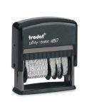 """TRODAT Dátum- és szövegbélyegző, 12 féle szöveggel, TRODAT """"4817"""""""
