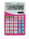 """SHARP Számológép, asztali, 10 számjegy, SHARP """"EL-M332"""", pink"""