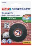 """TESA Ragasztószalag, kétoldalas, kültéri, 19 mm x 1,5 m, TESA """"Powerbond"""""""