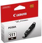 CANON CLI-551B Fotópatron Pixma iP7250, MG5450 nyomtatókhoz, CANON, fekete, 7ml