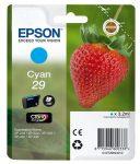 EPSON C13T29824010 Tintapatron XP235/332 nyomtatókhoz, EPSON, cián, 3,2ml