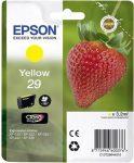 EPSON C13T29844010 Tintapatron XP235/332 nyomtatókhoz, EPSON, sárga, 3,2ml