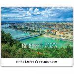 Falinaptár képes, min. 460x320 mm (Budapest) 2021.