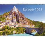 Falinaptár képes, min. 460x320 mm (Európa) 2021.