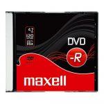 DVD-R 4,7gb 16x slim tokos Maxell