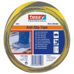 Csúszásgátló szalag 50mmX15 m fekete-sárga TESA