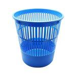 Papírkosár műanyag 16l rácsos kék 315x305mm