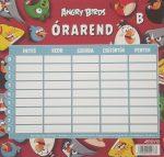 Órarend Angry Birds egy lapos két oldalas