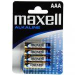 Elem AAA mikro LR03 MAXELL ALKALINE 4 db