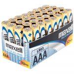 Elem AAA mikro LR03 zsugorfóliás MAXELL alkaline 4 db