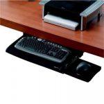 Billentyűzettartó fiók, kihúzható, FELLOWES Office Suites Deluxe