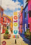 Spirálfüzet T-Creativ A4 70 lapos négyzetrácsos Color City