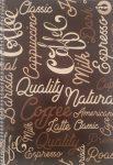 Spirálfüzet T-Creativ A4 70 lapos négyzetrácsos Coffee