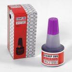 Bélyegzőfesték lila 30 ml