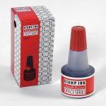 Bélyegzőfesték piros 30 ml