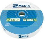 MYMEDIA CD-R lemez, 700MB, 52x, 10 db, zsugor csomagolás, MYMEDIA