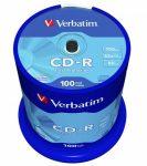 """VERBATIM CD-R lemez, 700MB, 52x, hengeren, VERBATIM """"DataLife"""""""