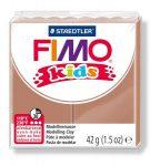 "FIMO Gyurma, 42 g, égethető, FIMO ""Kids"", világosbarna"