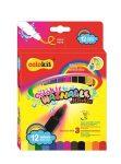 """COLOKIT Filctoll készlet, kimosható, COLOKIT """"Washable Markers"""" 12 különböző készlet"""
