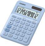 """CASIO Számológép, asztali, 10 számjegy, CASIO """"MS 20UC"""", világoskék"""