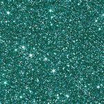 . Glitterkarton, A4, 220 g, türkiz