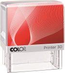 """COLOP Bélyegző,  COLOP """"Printer IQ 30"""" fehér ház - fekete párnával"""