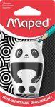 """MAPED Hegyező, egylyukú, tartályos, MAPED """"Shakky Fancy"""", panda és pingvin, vegyes formák"""