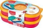 "MAPED PICNIK Uzsonnás doboz, 2 db, MAPED PICNIK  ""Concept Kids Snack"", pink"