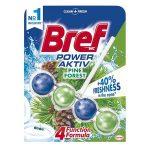 """BREF WC illatosító golyók, 50 g, BREF """"Power Aktiv"""", fenyő"""
