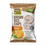 RICE UP Barnarizs chips, 60 g, RICE UP, sajtos