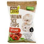 RICE UP Barnarizs chips, 60 g, RICE UP, ketchup