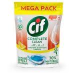 "CIF Mosogatógéptabletta, 70 db, CIF ""Complete Clean All-in-One"", citrom"
