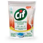 "CIF Mosogatógéptabletta, 46 db, CIF ""Complete Clean All-in-One"", citrom"