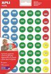 "APLI Matrica, emoji, APLI ""Happy face"""