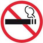 APLI Információs matrica, tilos a dohányzás, APLI