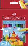 """FABER-CASTELL Filctoll készlet, FABER-CASTELL, 12 különböző szín""""Castle"""""""