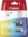 CANON CL-541/PG-540 Tintapatron multipack Pixma MG2150, 3150 nyomtatókhoz,CANON, b+c, 2*180 oldal