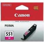 CANON CLI-551M Tintapatron Pixma iP7250, MG5450 nyomtatókhoz, CANON, magenta, 7ml
