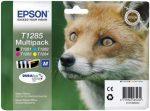 EPSON T12854010 Tintapatron multipack Stylus S22, SX125 nyomtatókhoz, EPSON, b+c+m+y, 16,4ml