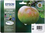 EPSON T12954010 Tintapatron multipack Stylus SX420W nyomtatóhoz, EPSON, b+c+m+y, 32,2ml
