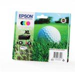 EPSON T34764010 Tintapatron multipack Workforce 3720DWF, 3725DWF nyomtatókhoz, EPSON, b+c+m+y, 48,7ml