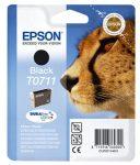 EPSON T07114011 Tintapatron Stylus D78, D92, D120 nyomtatókhoz, EPSON, fekete, 7,4ml