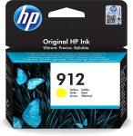 HP 3YL79AE Tintapatron Officejet 8023 All-in-One nyomtatókhoz, HP 912, sárga, 315 oldal