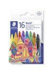 """STAEDTLER Zsírkréta, STAEDTLER """"Noris Club"""", 16 különböző szín"""