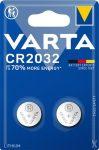 VARTA Gombelem, CR2032, 2 db, VARTA